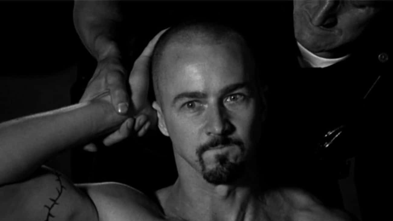 Ed Norton, 'American History X is listed (or ranked) 1 on the list The Best Performances to Not Win an Oscar