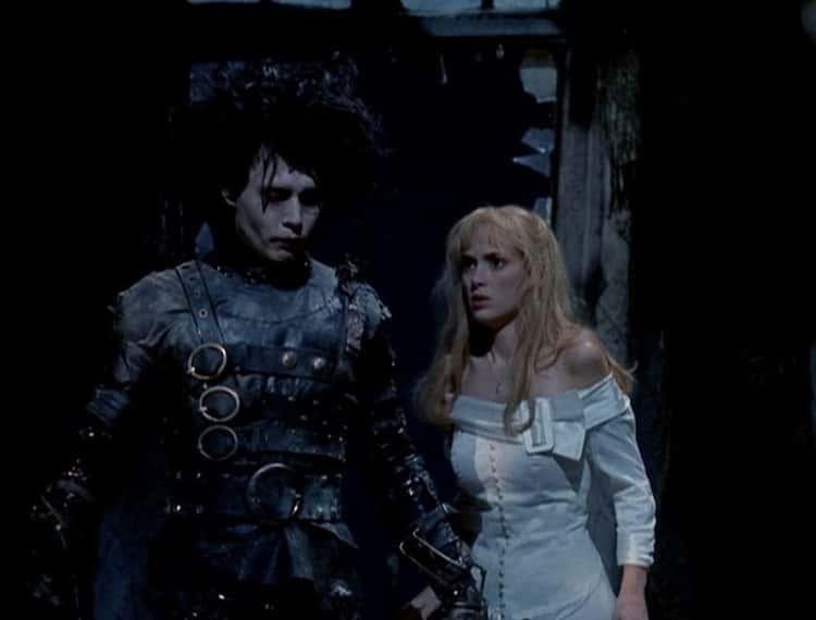 Edward And Kim From 'Edward Scissorhands'
