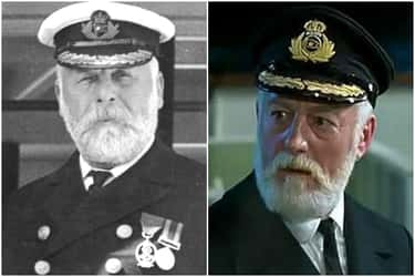 Edward Smith - Bernard Hill is listed (or ranked) 2 on the list The 'Titanic' Cast Vs. The Real People They Portrayed
