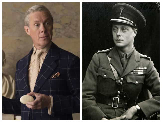 Edward VIII of the United King... is listed (or ranked) 4 on the list English Royals And The Actors Who Should Play Them In A Movie