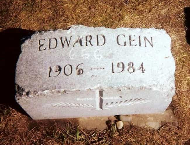 Ed Gein is listed (or ranked) 1 on the list 21 of the Creepiest Souvenirs Serial Killers Have Kept
