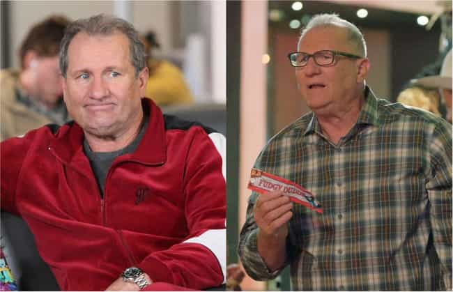 Ed O'Neill is listed (or ranked) 4 on the list How the Cast of Modern Family Aged from the First to Last Season