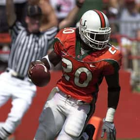 Ed Reed is listed (or ranked) 1 on the list The Best Miami Football Players of All Time