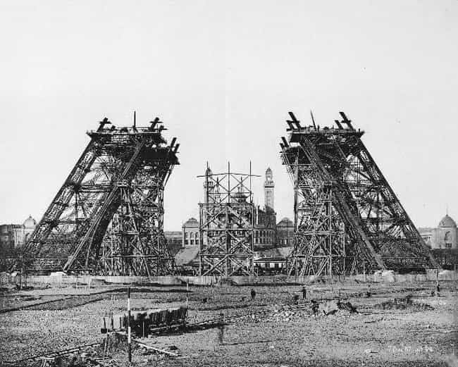 Eiffel Tower is listed (or ranked) 4 on the list The Construction of the Most Iconic Landmarks on Earth