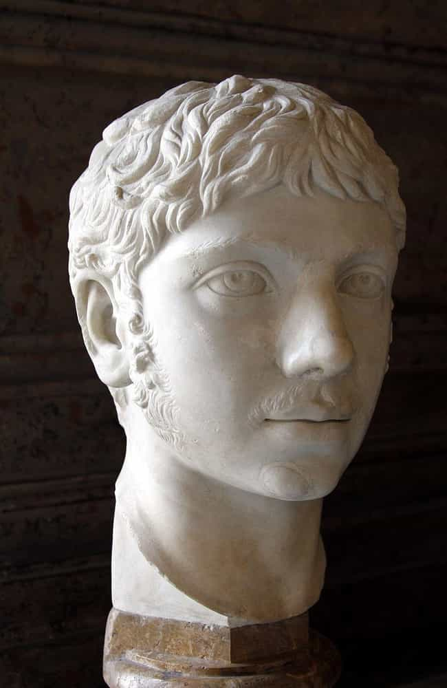 Elagabalus is listed (or ranked) 4 on the list The Weirdest Royals Throughout History