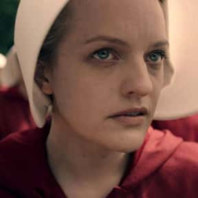 Elisabeth Moss, 'The Handmaid' is listed (or ranked) 6 on the list 50 Snubs From The 2020 Emmy Nominations