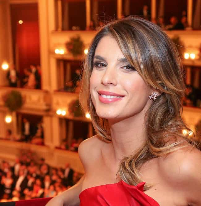 Elisabetta Canalis is listed (or ranked) 2 on the list Men Who Hayden Christensen Has Dated