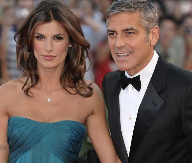 Elisabetta Canalis is listed (or ranked) 3 on the list George Clooney's Loves & Hookups