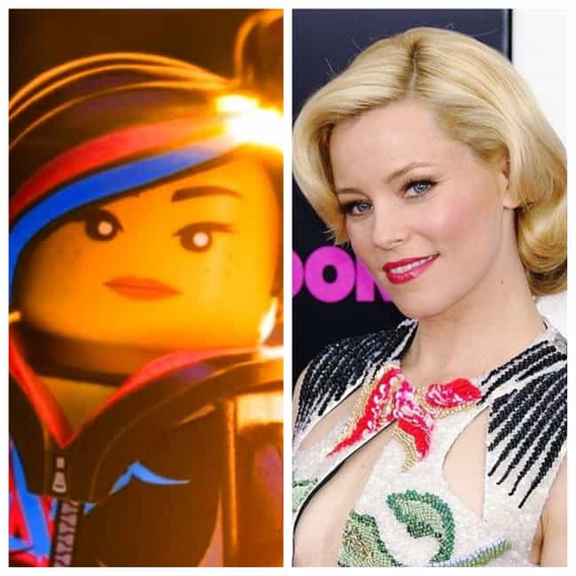 Elizabeth Banks is listed (or ranked) 2 on the list Here's Where You've Heard Or Seen Everyone In 'The Lego Movie 2' Before