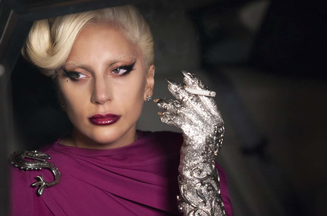 Lady Gaga's Countess Elizabeth is listed (or ranked) 4 on the list All The True Stories, People, And Crimes Referenced In Every Season Of 'American Horror Story'