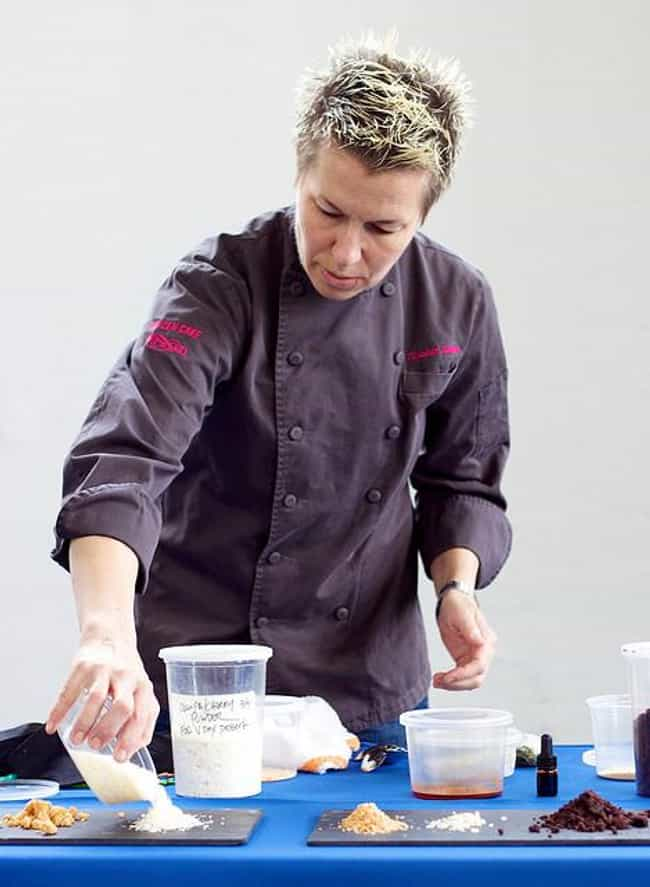 Elizabeth Falkner is listed (or ranked) 4 on the list List of Famous Pastry Chefs