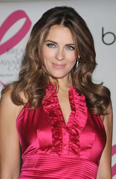 Elizabeth Hurley is listed (or ranked) 1 on the list The Most Stunning Celebrity Women Over 50