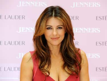Elizabeth Hurley is listed (or ranked) 1 on the list Beautiful Celebrity Women Aging the Most Gracefully