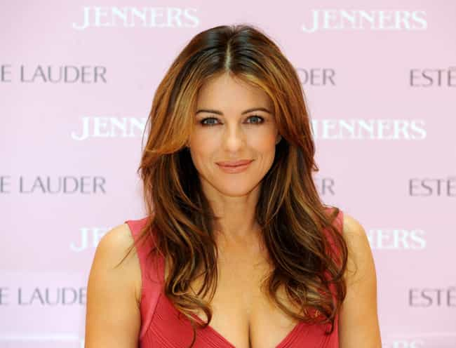 Elizabeth Hurley is listed (or ranked) 1 on the list Men Who Rachel Dunn Has Dated