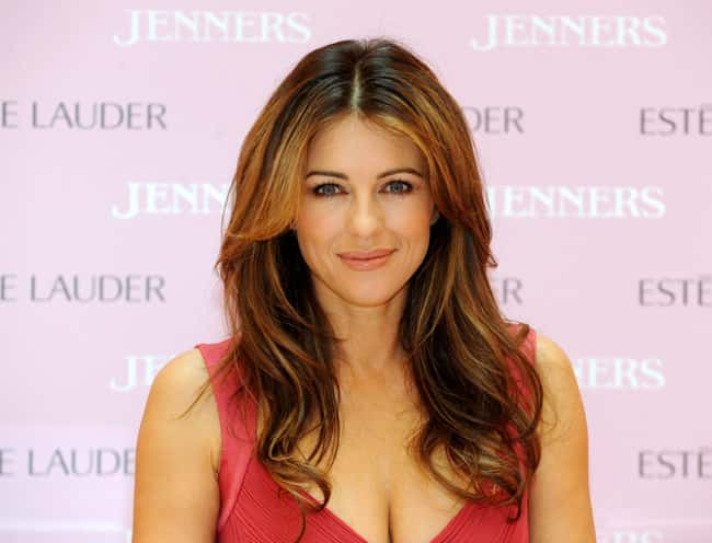Elizabeth Hurley is listed (or ranked) 55 on the list The Most Captivating Celebrity Eyes (Women)