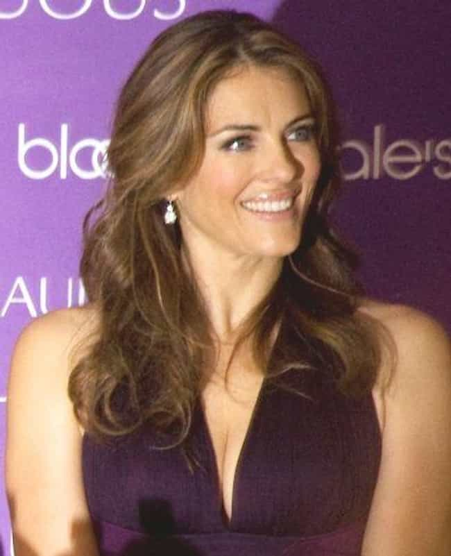 Elizabeth Hurley is listed (or ranked) 6 on the list 31 Celebrities You Didn't Know Have Side Businesses