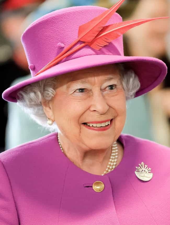 Elizabeth II is listed (or ranked) 8 on the list What Every Living British Royal Does Today