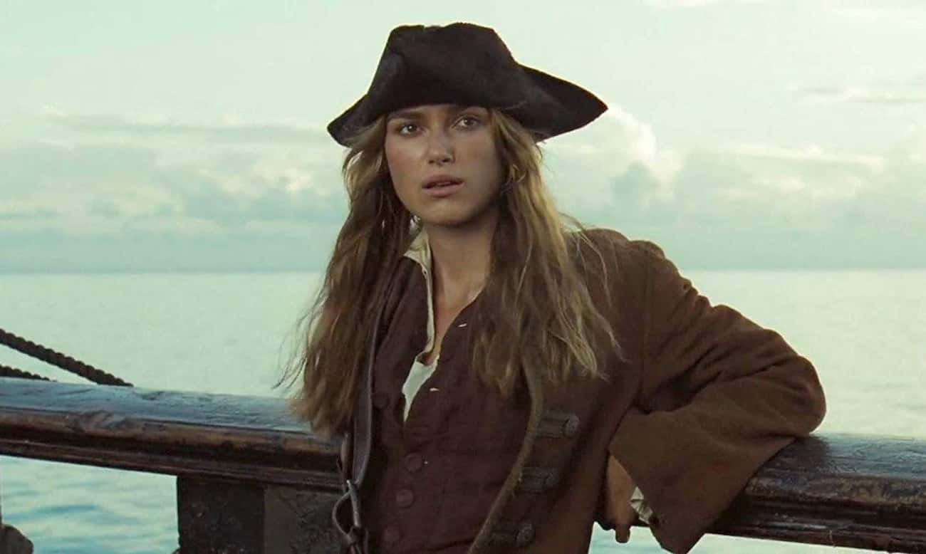 Elizabeth Swann In The 'Pirates Of The Caribbean' Films
