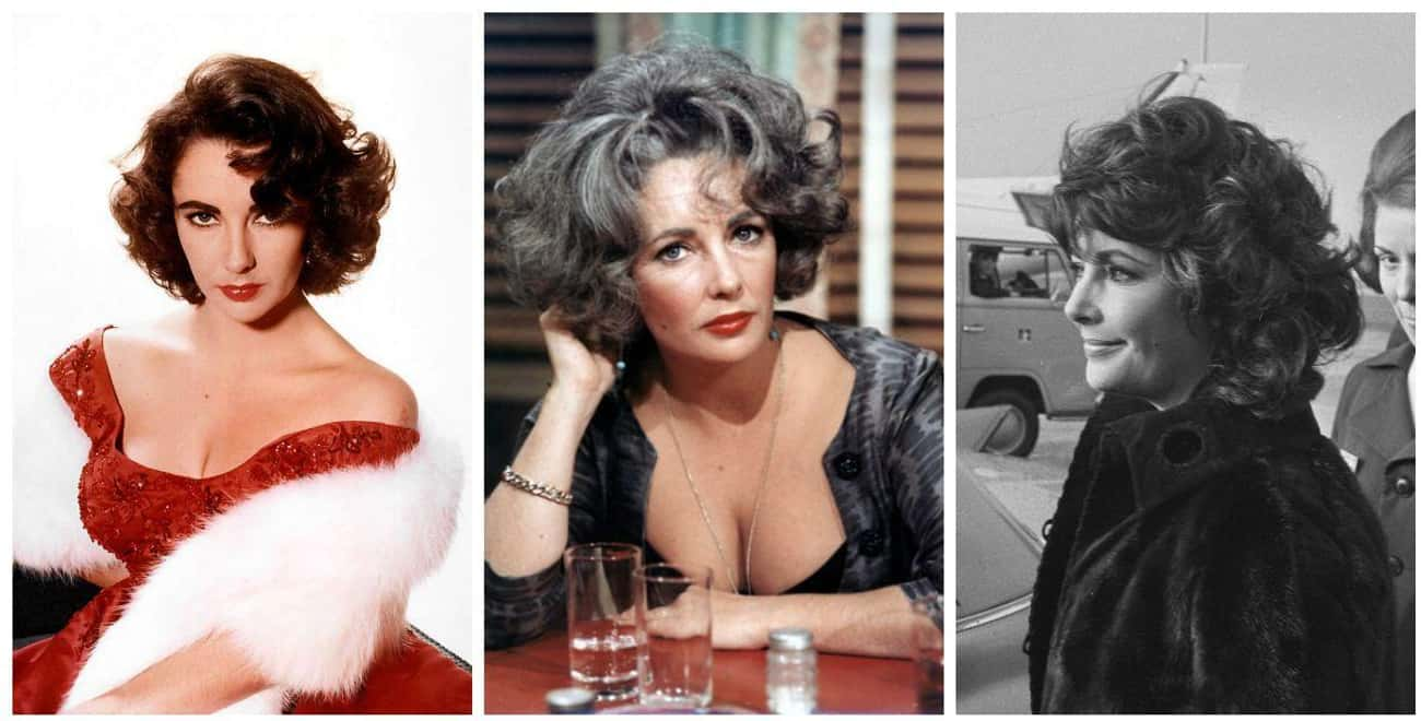 Elizabeth Taylor is listed (or ranked) 2 on the list Actors in Old Age Makeup vs How They Actually Aged