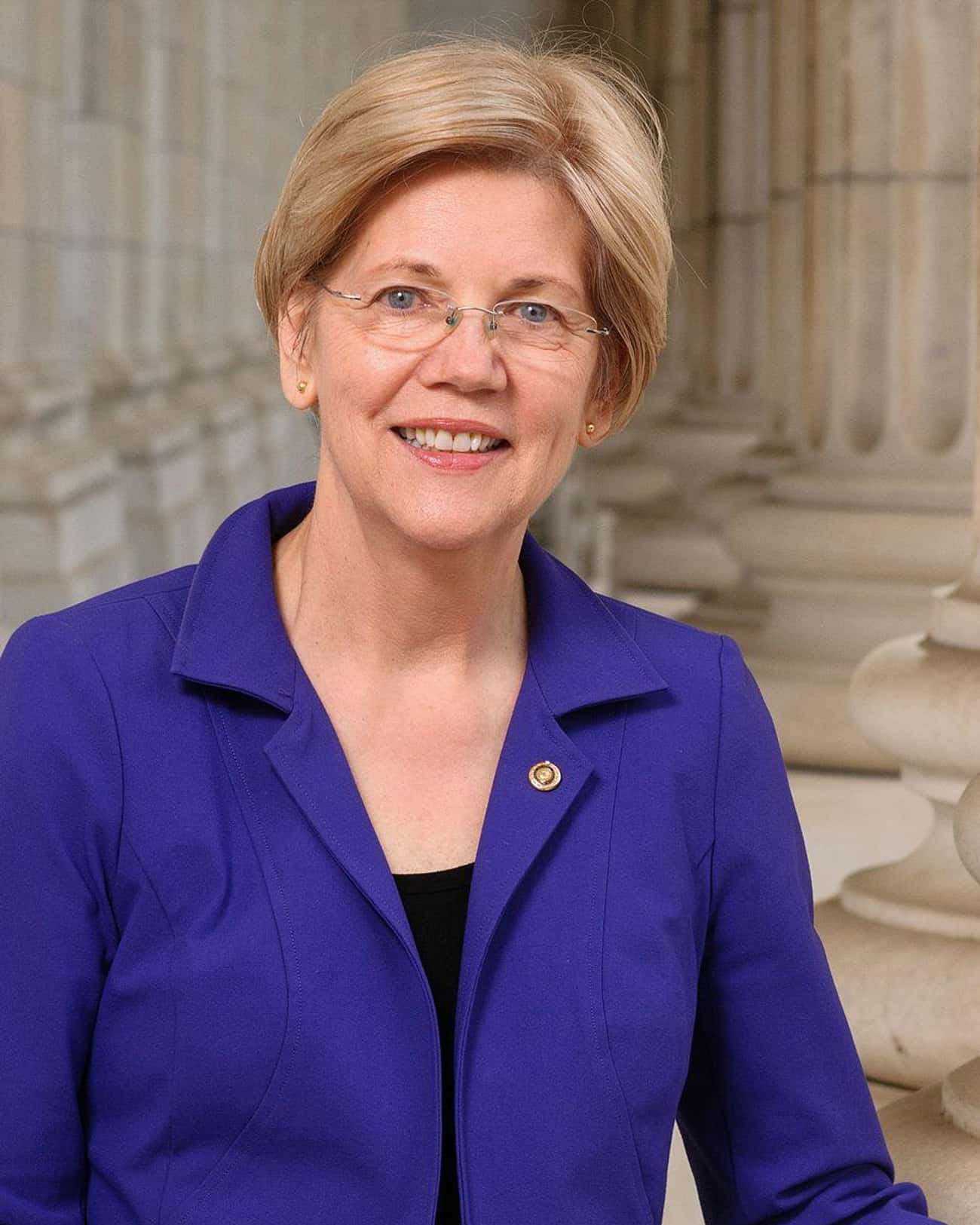 Elizabeth Warren is listed (or ranked) 1 on the list Politicians' Voting Record on the Environment