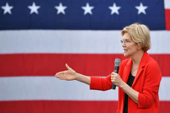 Elizabeth Warren is listed (or ranked) 1 on the list All The 2020 Democratic Candidates' First Jobs