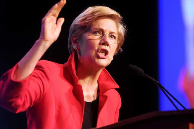 Elizabeth Warren is listed (or ranked) 1 on the list The Most Influential People of 2014