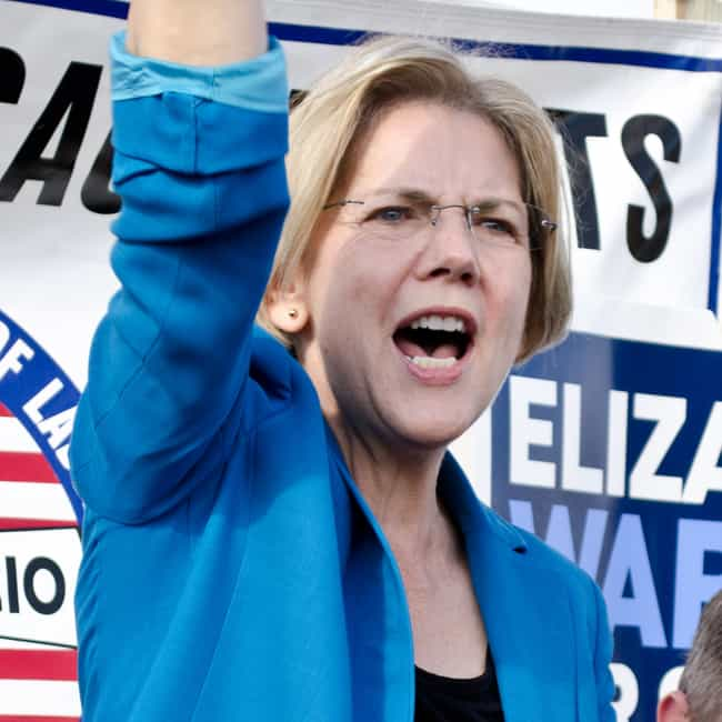 Elizabeth Warren is listed (or ranked) 1 on the list Dream Running Mates Hillary Should Consider