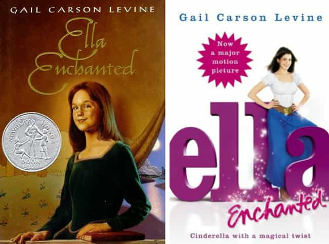 Ella Enchanted is listed (or ranked) 2 on the list Original Book Covers and the Movie Reissue Covers That Ruined Them