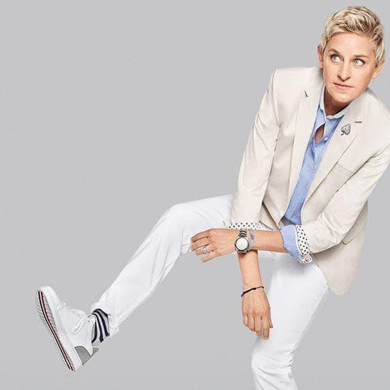 Blonde and ebony lesbian