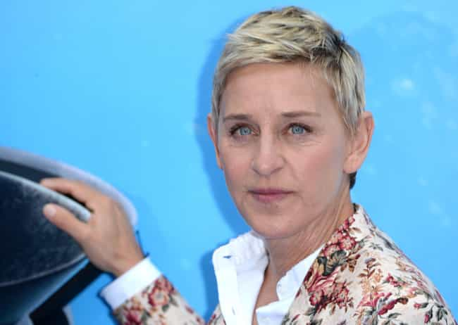 Ellen DeGeneres is listed (or ranked) 3 on the list Celebrities Who Wear Levi Strauss & Co.