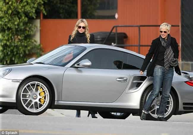 Ellen DeGeneres is listed (or ranked) 4 on the list 70+ Famous People with Porsches