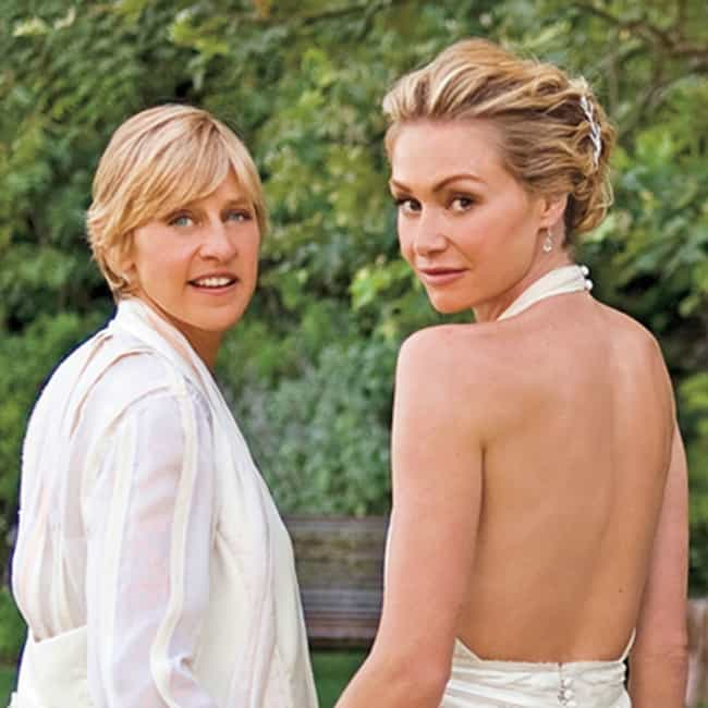 Ellen DeGeneres is listed (or ranked) 4 on the list 16 Celebrities Who Married Later In Life