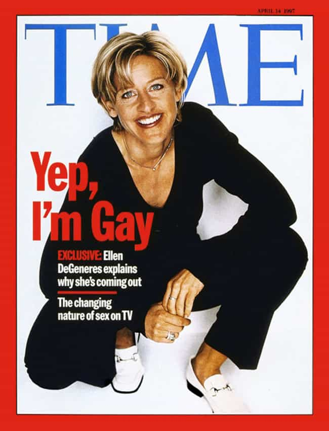 Ellen DeGeneres is listed (or ranked) 1 on the list The Most Powerful Time Covers