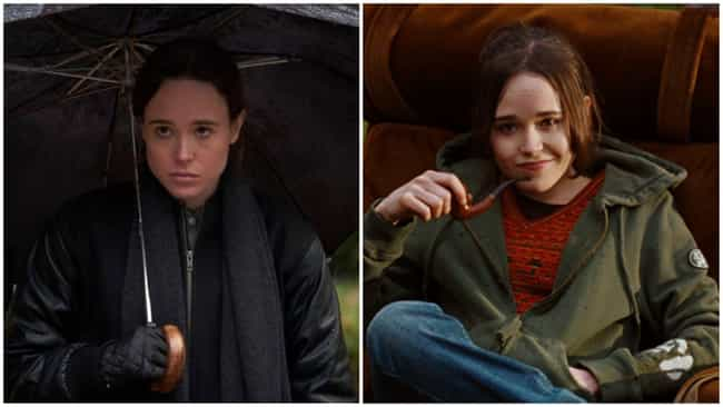 Ellen Page is listed (or ranked) 1 on the list Where You've Seen The Actors In 'Umbrella Academy' Before