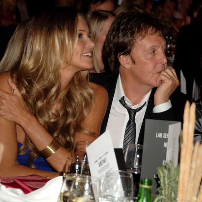 Elle Macpherson is listed (or ranked) 4 on the list Paul McCartney Relationship History
