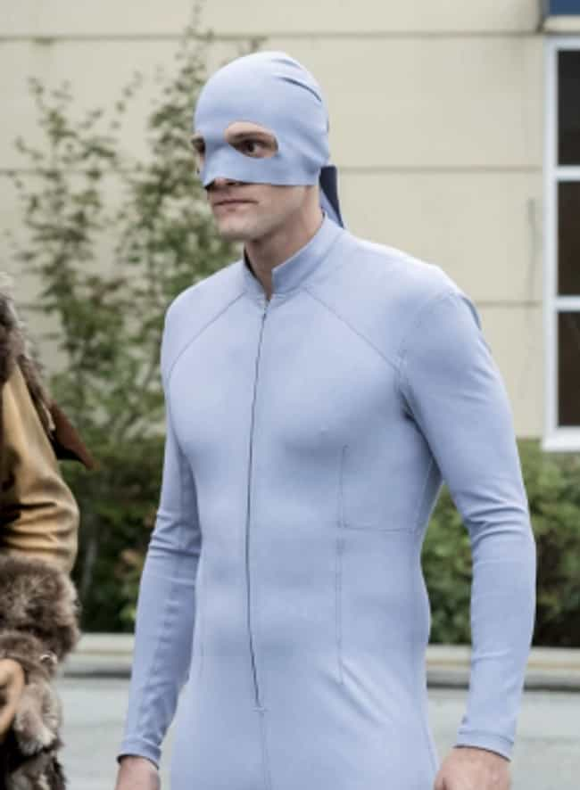 Elongated Man is listed (or ranked) 1 on the list Current TV Superheroes With The Dumbest Looking Costumes