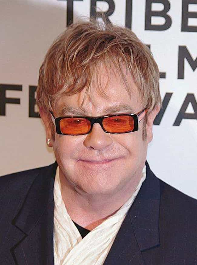 Elton John is listed (or ranked) 3 on the list Celebrities Who Live In Atlanta