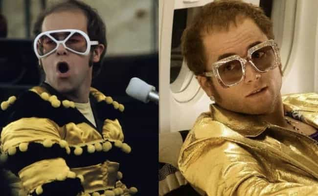 Elton John is listed (or ranked) 1 on the list 'Rocketman' Actors Vs. The Real People They Play