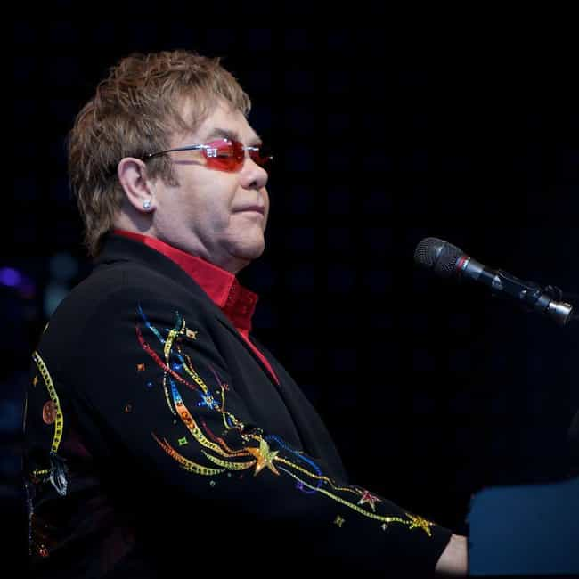 Elton John is listed (or ranked) 7 on the list Celebrities Who Are Godparents For Their Famous Friends
