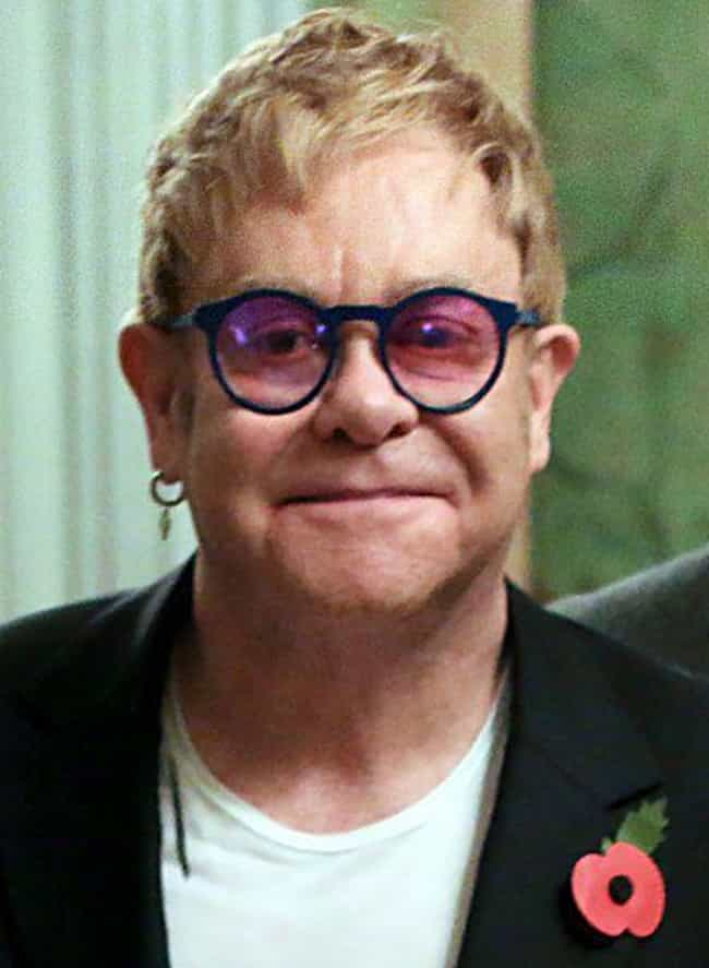 Elton John is listed (or ranked) 4 on the list 20 Celebrities Who Started as Backup Singers