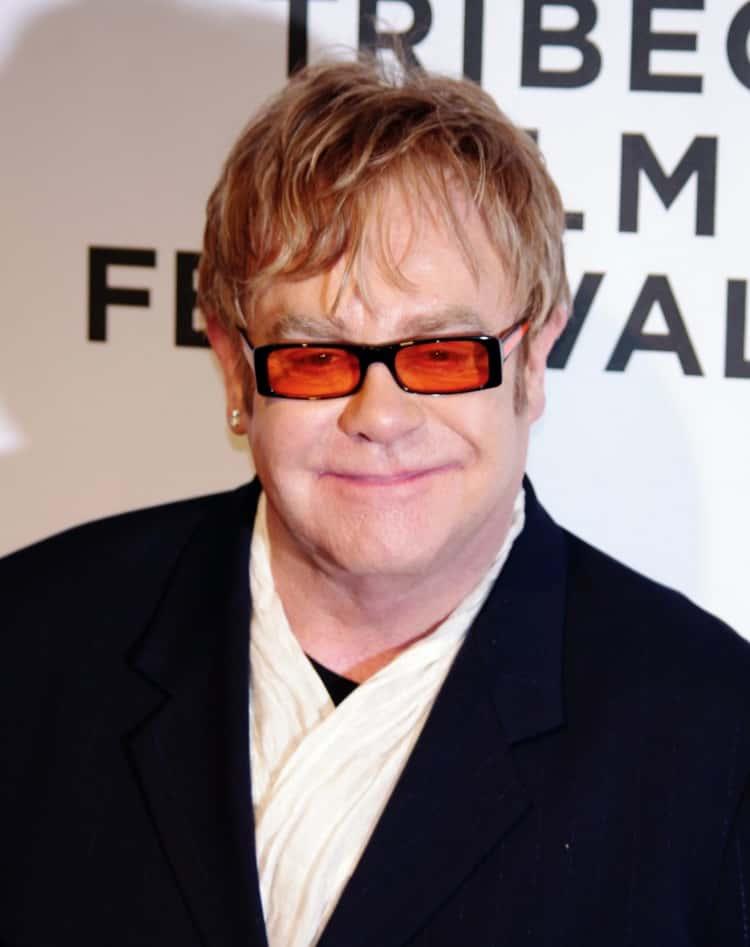 Elton John's Flowers