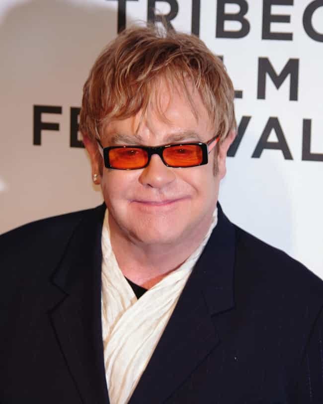 Elton John is listed (or ranked) 1 on the list The Craziest Celebrity Impulse Buys