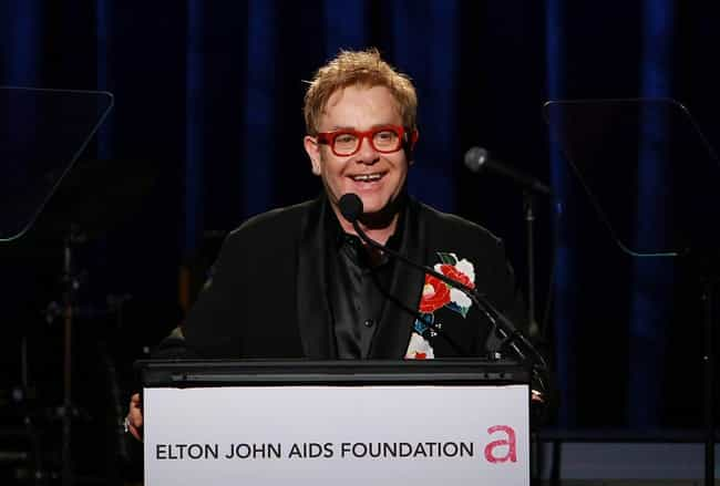 Elton John is listed (or ranked) 2 on the list 26 Famous Gay People Who Fight for Human Rights