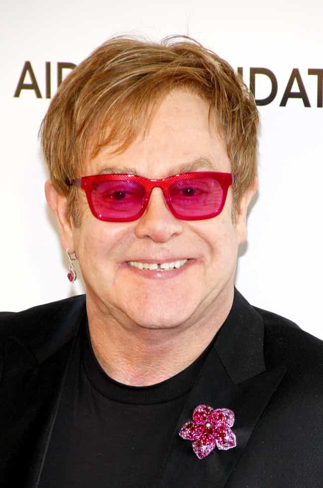 Elton John is listed (or ranked) 4 on the list Famous People With Eating Disorders