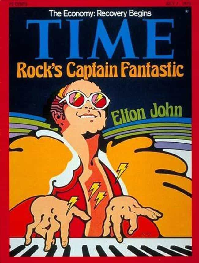 Elton John is listed (or ranked) 6 on the list The Most Powerful Time Covers