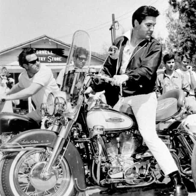 Elvis Presley is listed (or ranked) 4 on the list Actors Who Ride Motorcycles