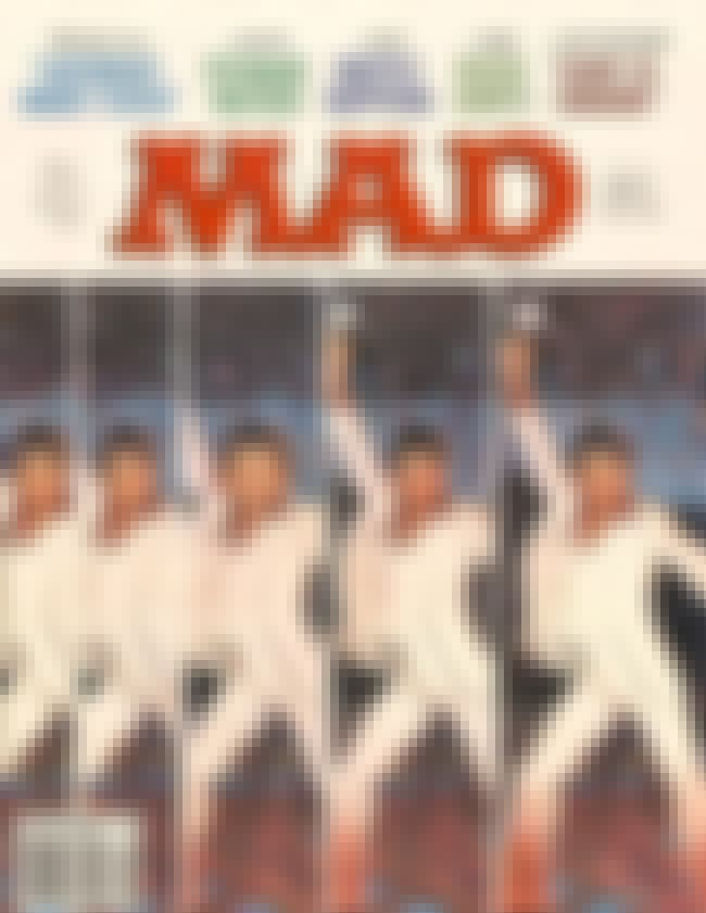 Elvis Presley is listed (or ranked) 2 on the list The Best Mad Magazine Covers