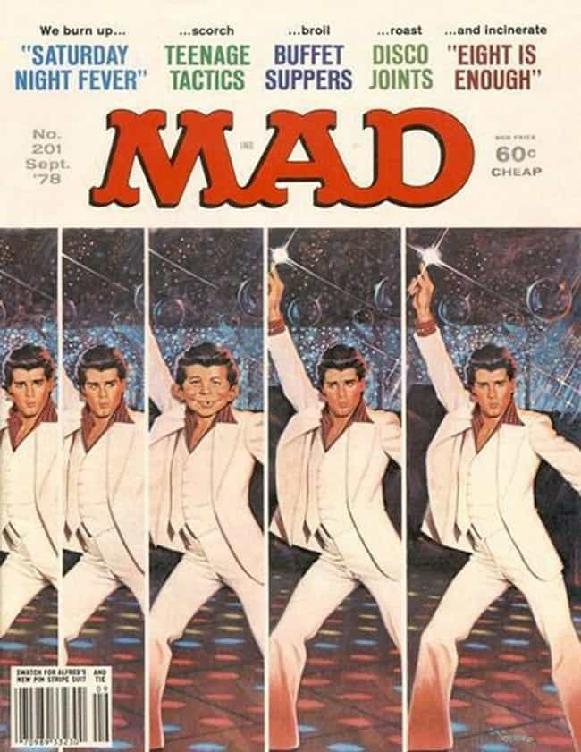 Elvis Presley is listed (or ranked) 3 on the list The Best Mad Magazine Covers