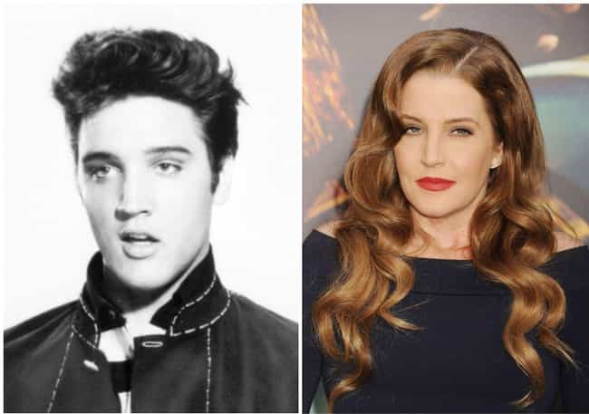 Elvis Presley is listed (or ranked) 2 on the list Historical Figures Whose Descendants Looked Just Like Them