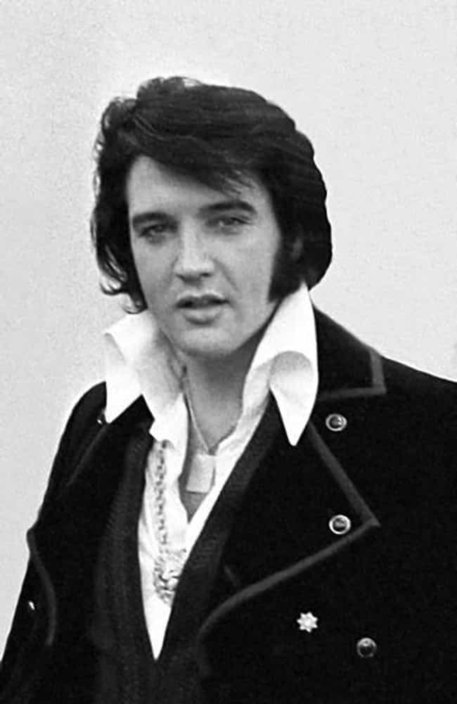 Elvis Presley is listed (or ranked) 1 on the list Famous People Who Died On The Toilet